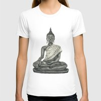 buddah T-shirts featuring Buddah by Hollie B