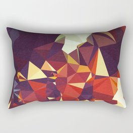 Abbey Road Geometric Rectangular Pillow