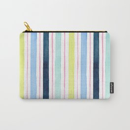 Preppy Stripes Carry-All Pouch