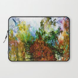 Colorful Birches Laptop Sleeve