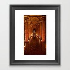 Basilica Cistern Framed Art Print