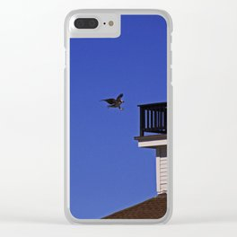 The Osprey and the Lighthouse I Clear iPhone Case
