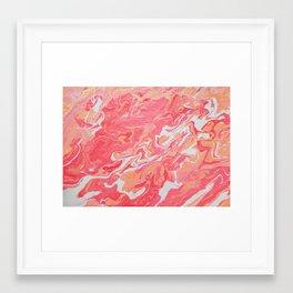 ONE TOUCH Framed Art Print