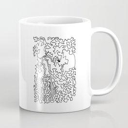 Heart Maze Coffee Mug