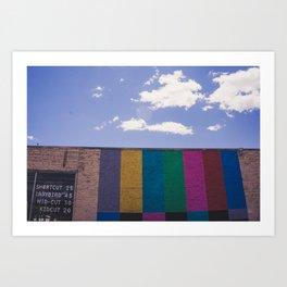 Colored Wall Art Print