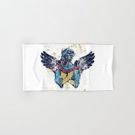 Fallen Hero Eagle Hand & Bath Towel