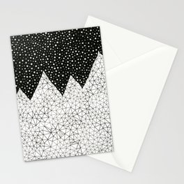 Day and Night (pen on paper) Stationery Cards