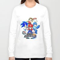 super smash bros Long Sleeve T-shirts featuring Super Smash Bros  by Blaze-chan