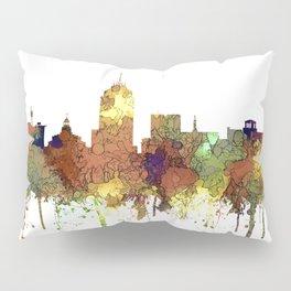 Fresno, California Skyline SG - Safari Buff Pillow Sham