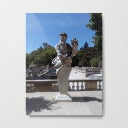 Jardins de la Fontaine, Nemoz. Metal Print