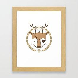 Mr. Deer Framed Art Print