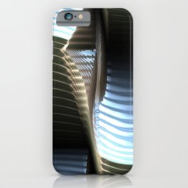Metal seamless surface iPhone Case