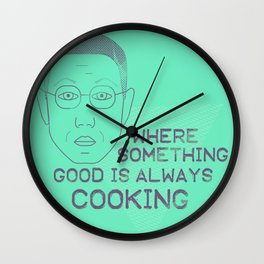 Breaking Bad - Faces - Gustavo Fring Wall Clock