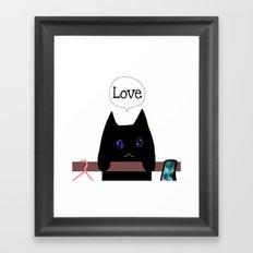 cat-139 Framed Art Print