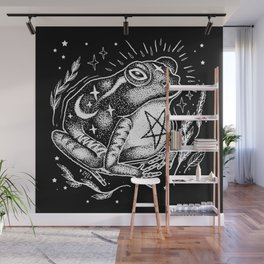 BLACK TOAD Wall Mural