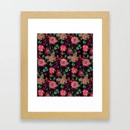 Autumnbutterfly Framed Art Print