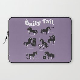 The Daily Tail Horse Laptop Sleeve