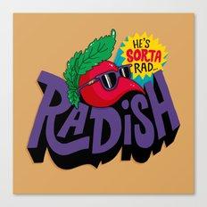 Radish Canvas Print