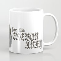 thorin Mugs featuring Uncle Thorin by ScottyTheCat
