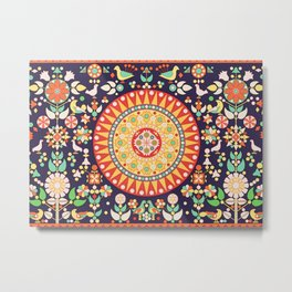 Wayuu Tapestry - II Metal Print