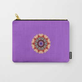 Monserrat Diamond Mandala With Amethyst Backdrop Carry-All Pouch