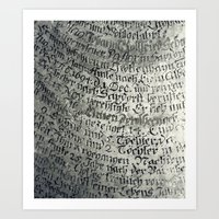 writing Art Prints featuring ancient writing by Falko Follert Art-FF77