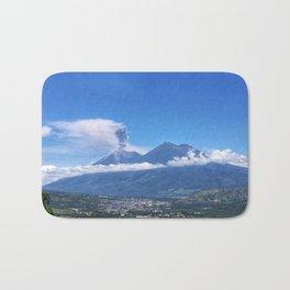 Guatemalan Erupting Volcano Bath Mat