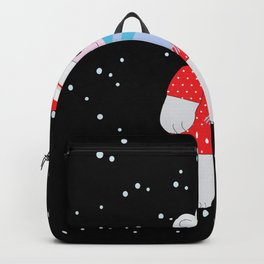 Christmas Bear Backpack
