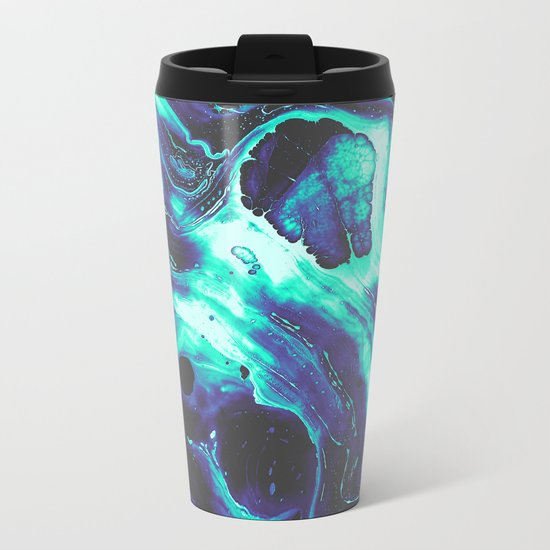 SHE LOST CONTROL Metal Travel Mug