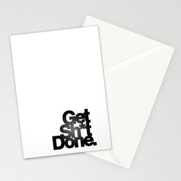 Get Sh*t Done. Stationery Cards
