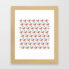Paletas Pattern Framed Art Print