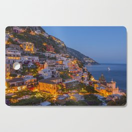 A Serene View of Amalfi Coast in Italy Cutting Board