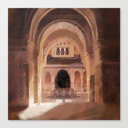 Patio de los Leones Canvas Print