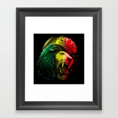 Warrior Of Dignity  Framed Art Print