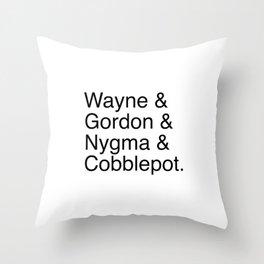 Gotham's Best Throw Pillow