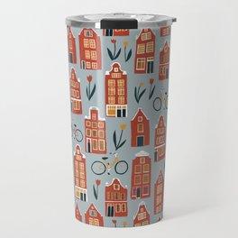 Charming Dutch Houses Travel Mug