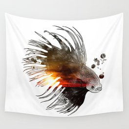 Float the World Wall Tapestry