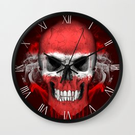 To The Core Collection: Latvia Wall Clock