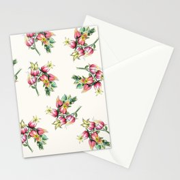Big Floral Happy Watercolor Stationery Cards