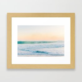 Smoke on the Water II Framed Art Print