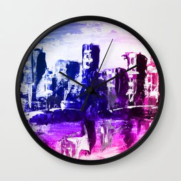 Police State Wall Clock