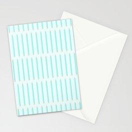 PENCILS ((aqua)) Stationery Cards