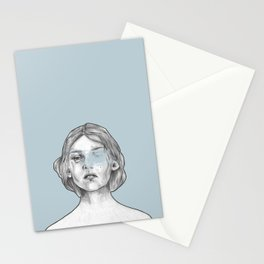 Art Noveau 2 Stationery Cards