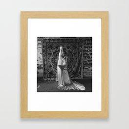 Twin (B/W) Framed Art Print