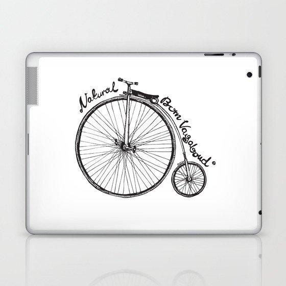Vintage bicycle | Natural Born Vagabond™ Laptop & iPad Skin