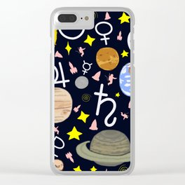 Solar System 2 Clear iPhone Case