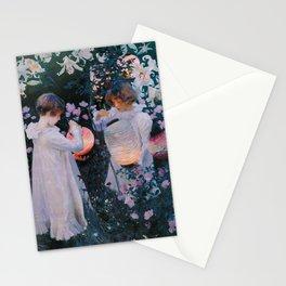 Carnation, Lily, Lily, Rose - John Singer Sargent Stationery Cards