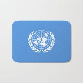 United Nations Flag Bath Mat