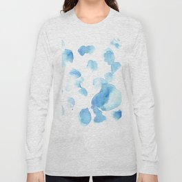 180515  Abstract Watercolour Wp 6  | Watercolor Brush Strokes Long Sleeve T-shirt