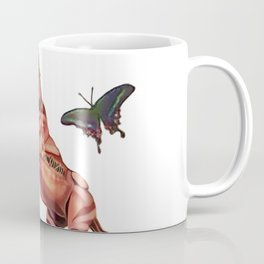 horse and butterfly Coffee Mug